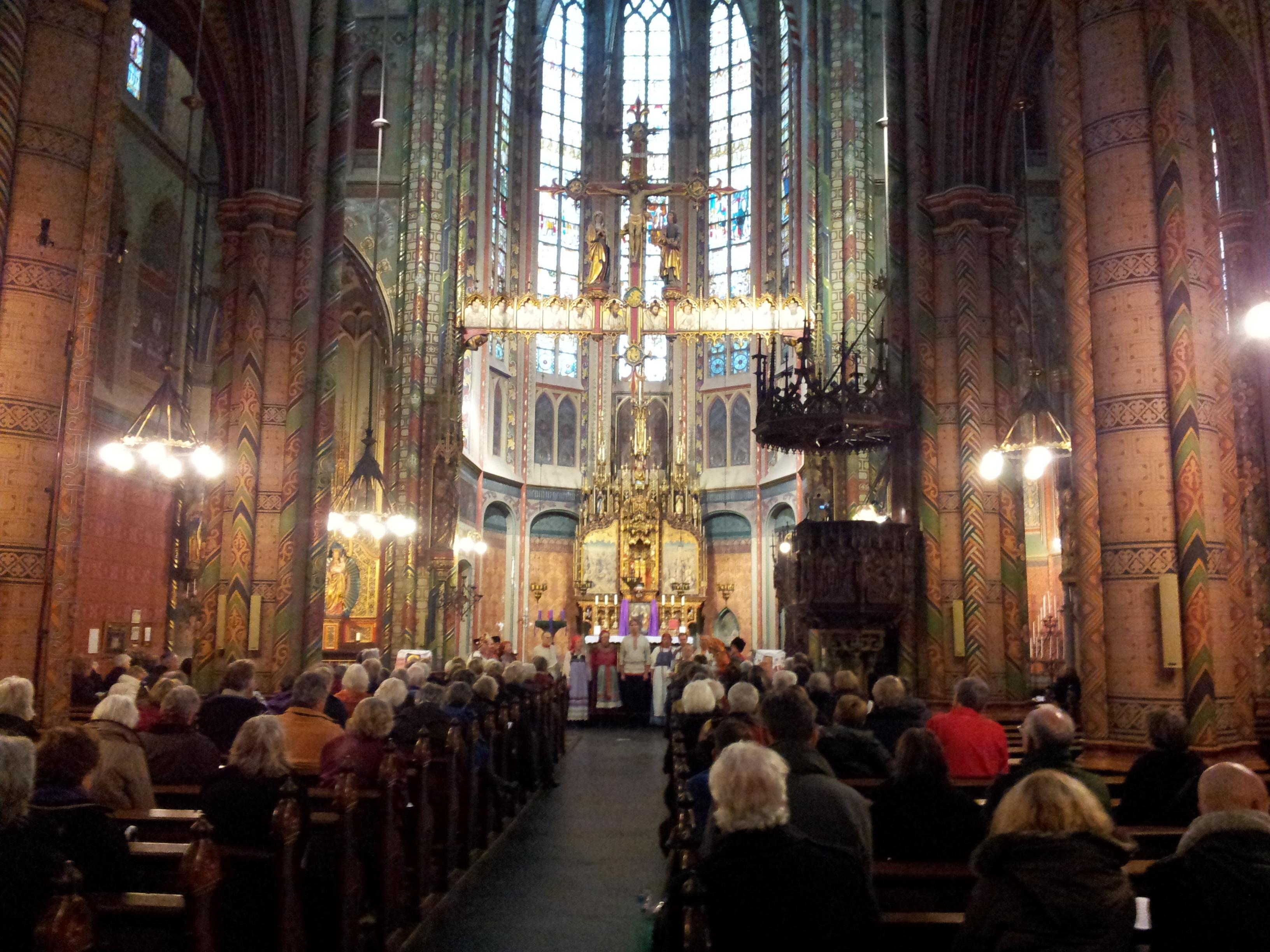 Russisch Kerstconcert in Utrecht 09.12.12 door Zarjanka. Foto: J. Raspopova