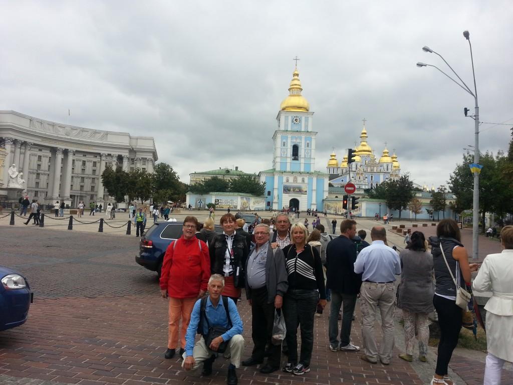 Zarjanka na 2 festivals op excursie in Kiev naar Kievo-Pjetshorskaja lavra!