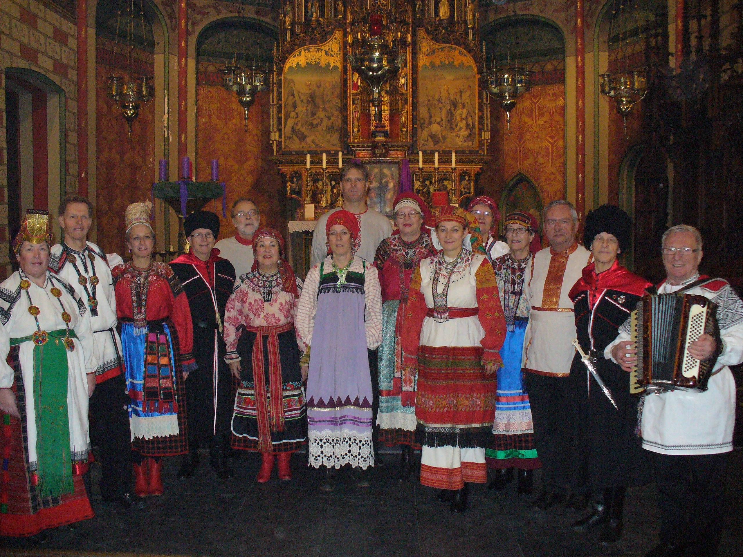 Russisch Kerstconcert in Utrecht. Foto: J. Raspopova