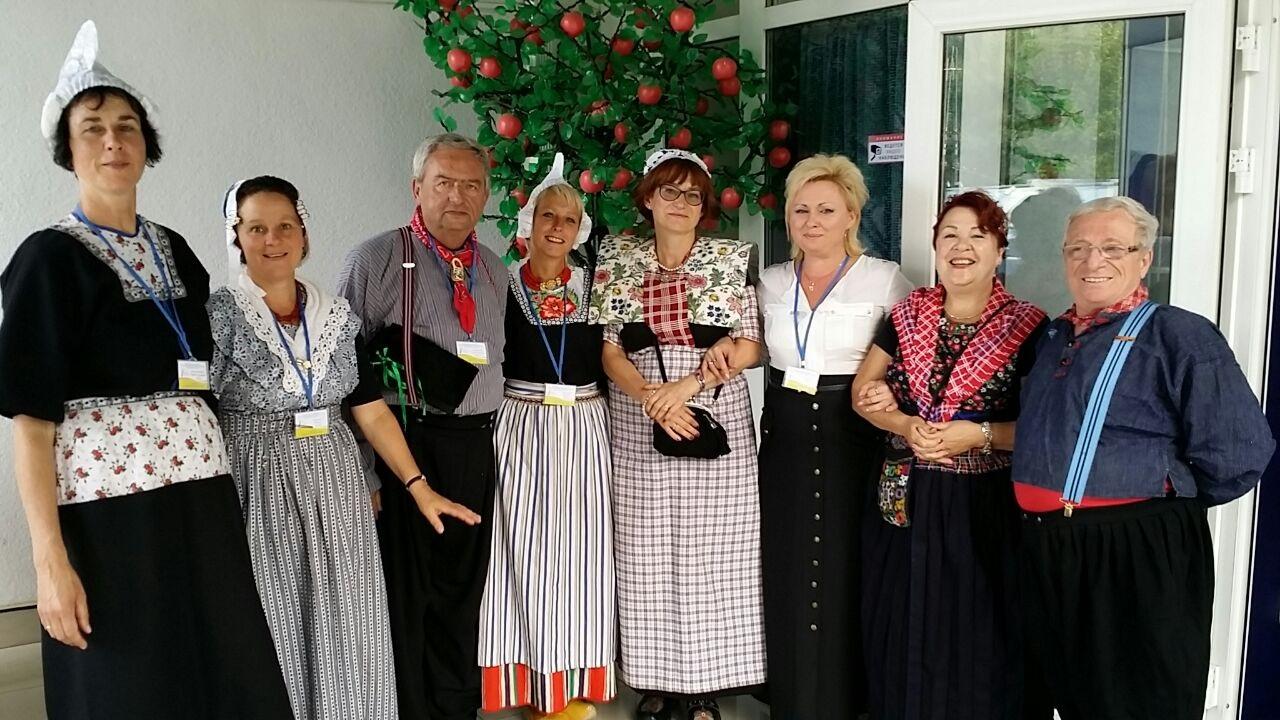 Zonder Rob met Alla na de conferentie in Svjetlogorsk aug 2104