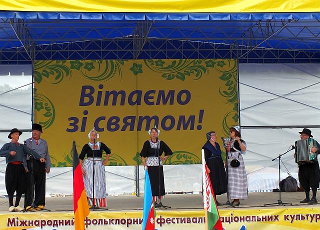 Zarjanka in Oekraine op t festival 2013